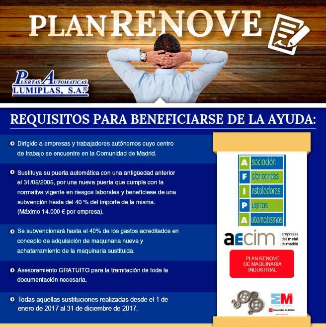 Anuncio Plan Renove